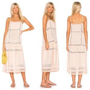 Free People This Is It Cotton Slip Midi Dress